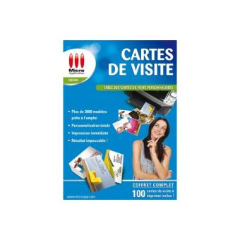 Utilitaires MICRO APPLICATION Cartes De Visite
