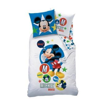Housse De Couette Disney Mickey Mouse Expressions 140 X 200 Cm
