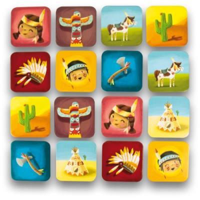 Ulysse couleurs d'enfance - 3870 - jeu de société - mémo indien