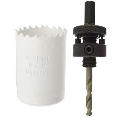35mm Adaptateur de perçage Scies cloches
