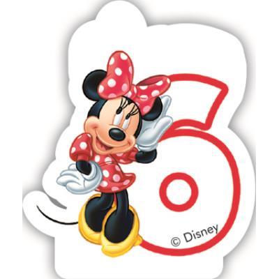 Bougie 6 ans Minnie café™
