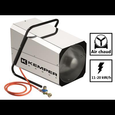 Générateur d'air chaud de 20 kW/h - Radiateur soufflant à gaz