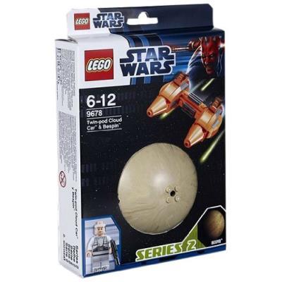 Lego Star Wars - 9678 - Jeu de Construction - Twin-Pod Cloud Car et Bespin