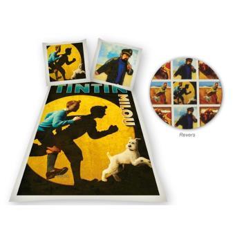 Parure Housse De Couette Tintin Spotlight Achat Prix Fnac