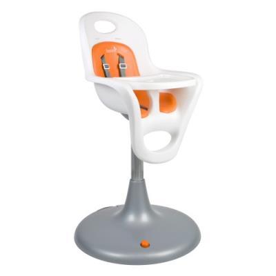 Tomy flair chaise haute orange/blanc