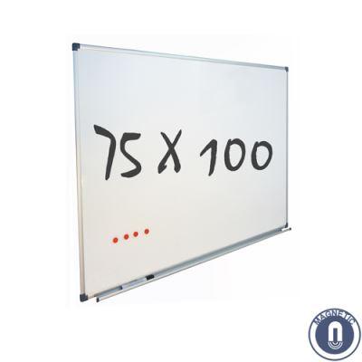Tableau blanc magnétique - 75 x 100 cm