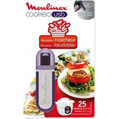 Moulinex xa600511 clé usb cookeo - 25 recettes fraîcheur