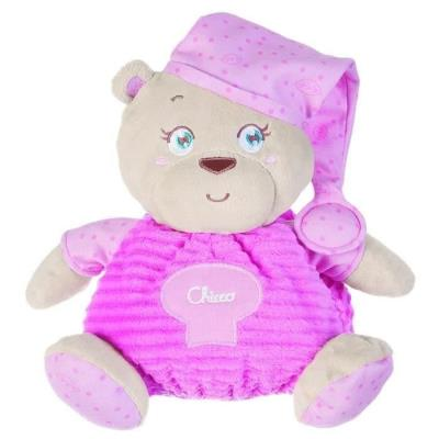CHICCO Peluche Grand Ours Rose