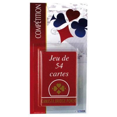 Jeu de 54 cartes france cartes