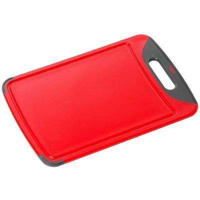 Silit 0020.7681.01 rouge planche à découper antibactérienne 38 x 25 cm