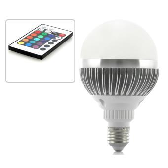 ampoule led multicolore 10w culot vis e27 t l commande ampoules leds top prix fnac. Black Bedroom Furniture Sets. Home Design Ideas