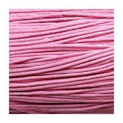 Accessoires création fil coton ciré 2 mm (10 mètres) Rose clair