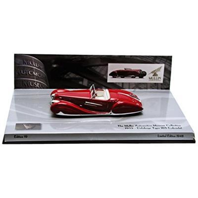 Minichamps - 437116130 - véhicule miniature - modèle à léchelle - delahaye type 165 cabriolet - 1939 - echelle 1 43