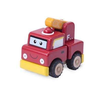 Camion de pompier à construire Wonderworld