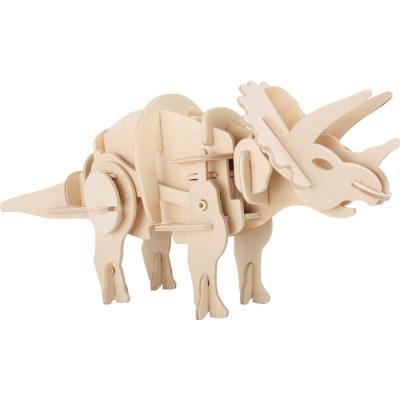 Kit de construction en bois Tricératops Vincent