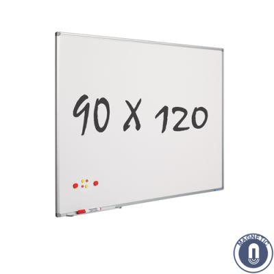 Tableau blanc 90 x 120 cm - magnétique
