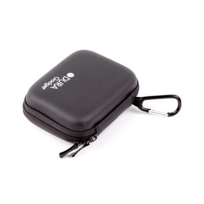 Etui rigide en noir pour Panasonic DMC-SZ 3 EG-K, Lumix DMC-F5, DMC-SZ3EF-K