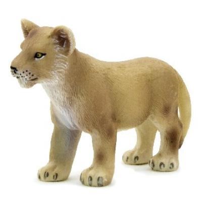 Mgm - 387011 - figurine animal - lionceau debout petit modèle - 6,5 x 4,5 cm animal planet ft-7011