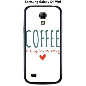 Coque Samsung Galaxy S4 Mini Coffee blanc