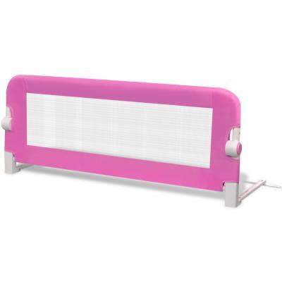 vidaXL Barrières de lit pour enfants 102 x 42 cm Rose