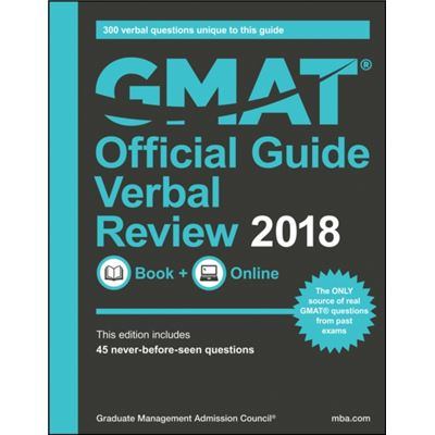 Official Guide For Gmat Verbal Review 18