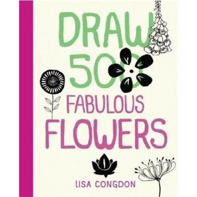 Draw 500 Fabulous Flowers /Anglais