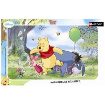 Pièces Puzzle Cadre Winnie L'oursonEt Nathan 15 4RLq35Aj