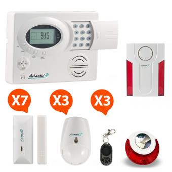 Atlanticu0027S   Alarme Maison Sans Fil ST III Kit 7   Achat U0026 Prix | Fnac