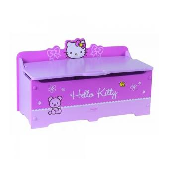coffre jouet hello kitty cabriole b b achat prix. Black Bedroom Furniture Sets. Home Design Ideas