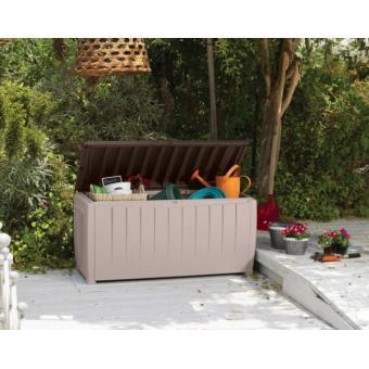 Coffre jardin de rangement avec assise 340l - Achat & prix ...