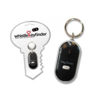 Porte-clés siffleur alarme sonore lumineuse LED retrouver clés perdu