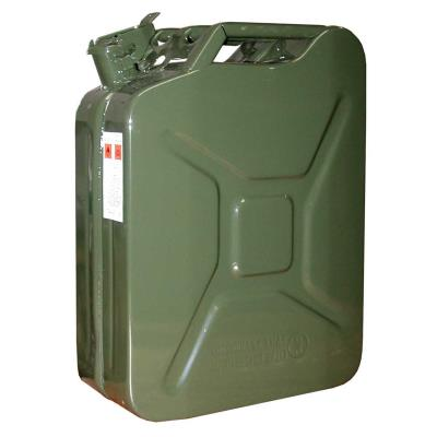 Outifrance - Jerrican tôle intérieur laqué 10 litres
