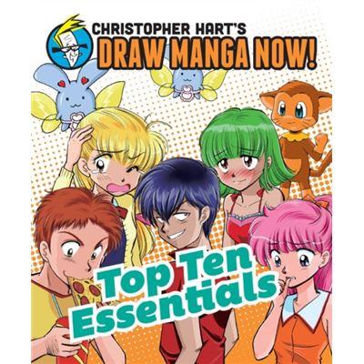 Top Ten Essentials (Christopher Hart'S Draw Manga Now!) (Paperback)
