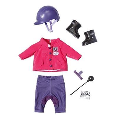 9fee8a533d5c7 Zapf Creation 822340 Baby Born - Tenue d Equitation - Vêtements pour Poupon  43 cm