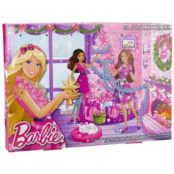 Calendrier Avent Barbie.Y7502 Mattel Barbie Calendrier De L Avent Accessoires