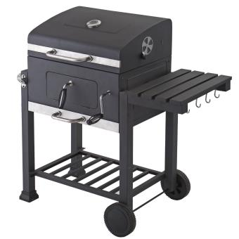 tepro 1061 barbecue au charbon de bois toronto avec roulettes achat prix fnac. Black Bedroom Furniture Sets. Home Design Ideas