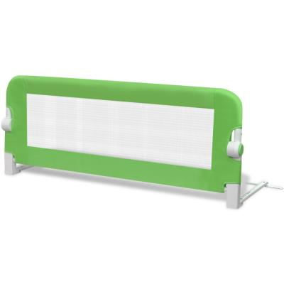 vidaXL Barrières de lit pour enfants 102 x 42 cm Vert