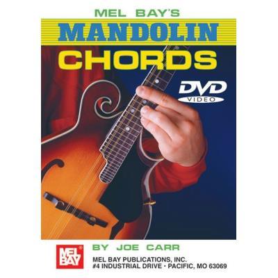 Méthodes et pédagogie MEL BAY CARR JOE MANDOLIN CHORDS DVD MANDOLIN Autres cordes pincées