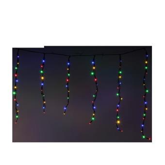 Rideau lumineux d\'extérieur 140 LED multicolores - Achat & prix | fnac