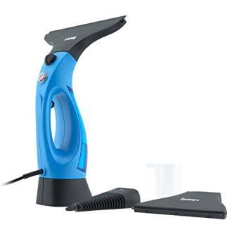 wiz400 nettoyeur vapeur pour vitre bleu achat prix soldes fnac. Black Bedroom Furniture Sets. Home Design Ideas