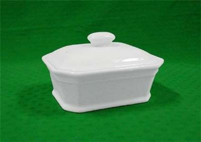 Porcelaine blanche blanc*terrine rect.n3 420g*5237