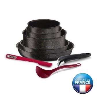 Tefal Ingenio Pierre Hardica Batterie De Cuisine 8 Pieces Yy2959fa