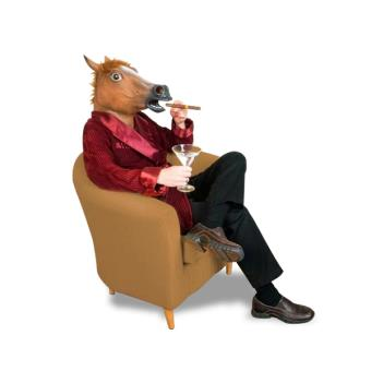 Cheval Tete 3€30 sur masque tête de cheval déguisement en latex costume