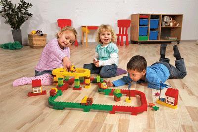 Lego Duplo - Le Circuit Duplo, 132 Pieces