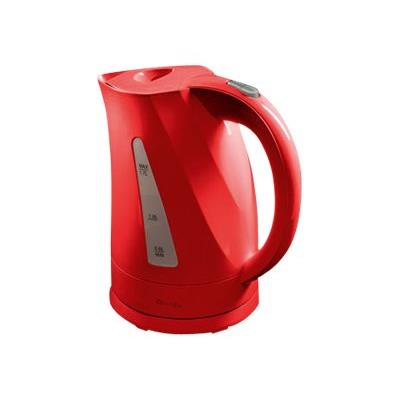 Domoclip DOM298R - Bouilloire - 1.7 litres - rouge