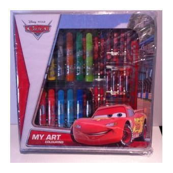 Wdk coffret coloriage cars de disney 1235 crayon de couleur et feutres achat prix fnac - Coffret coloriage cars leclerc ...