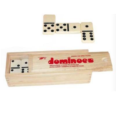 France Cartes - Jeu de dominos - Plumier bois 22 lignes