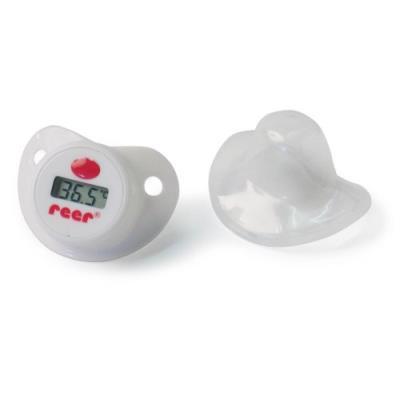 Reer le thermomètre-sucette thermomètre bébé, blanc