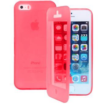 coque iphone 5 rouge apple