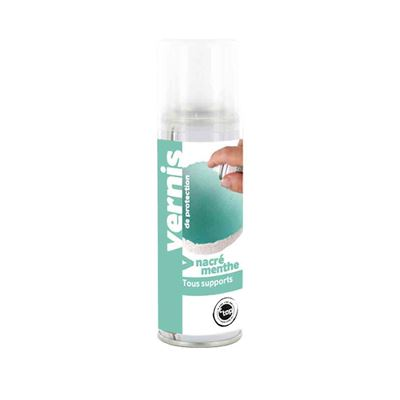 Vernis nacré menthe spray 125 ml - megacrea